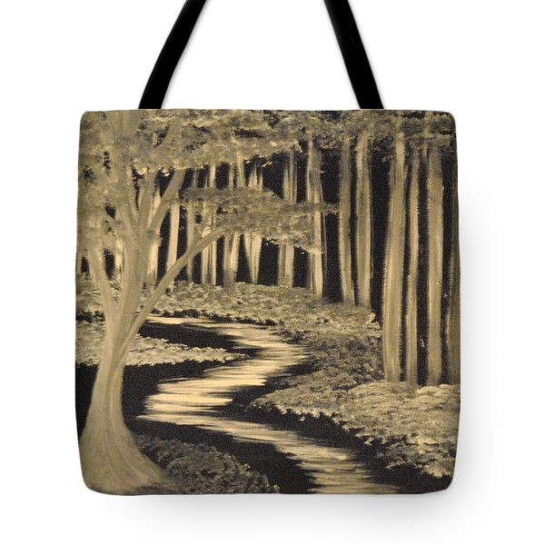 Faith Leads Us Tote Bag