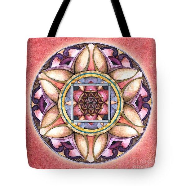 Faith Mandala Tote Bag