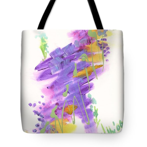 Faith The Final Frontier Tote Bag