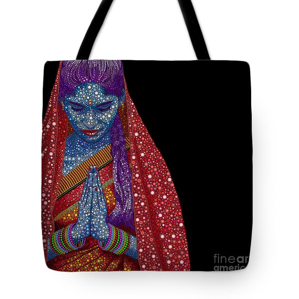 Faith Tote Bag by Tim Gainey