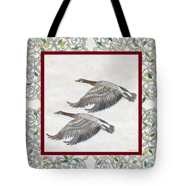 Tote Bag featuring the drawing Faithful by Dianne Levy