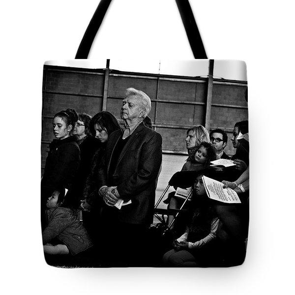 Faithful Fatherhood Tote Bag