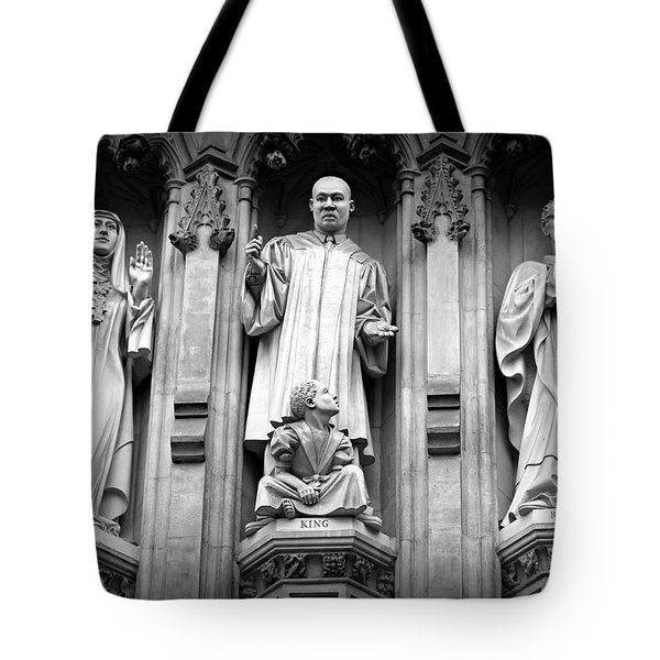 Faithful Witnesses -- Martin Luther King Jr Remembered With Bishop Romero And Duchess Elizabeth Tote Bag