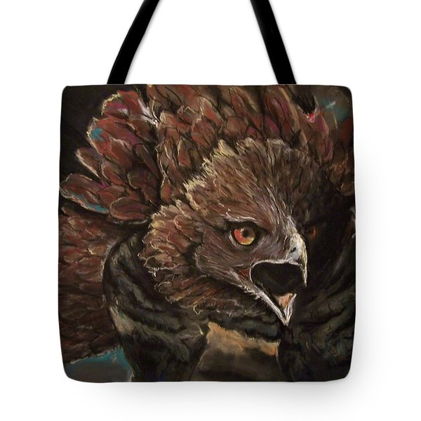 Falcon Opera  Tote Bag by Peter Suhocke