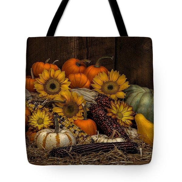 Fall Assortment Tote Bag