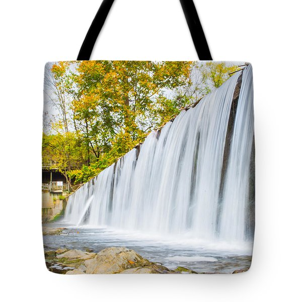 Fall At Buck Creek Tote Bag by Parker Cunningham