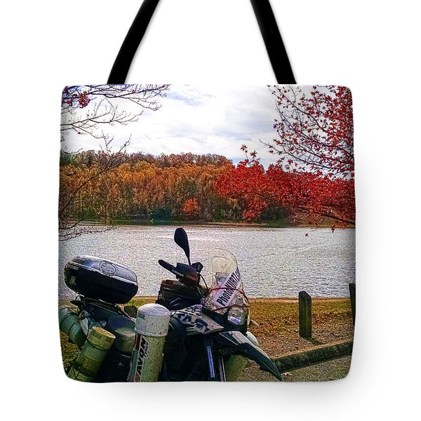 Fall At Fern Clyffe Tote Bag