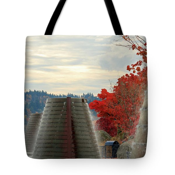 Harborside Fountain Park II Tote Bag
