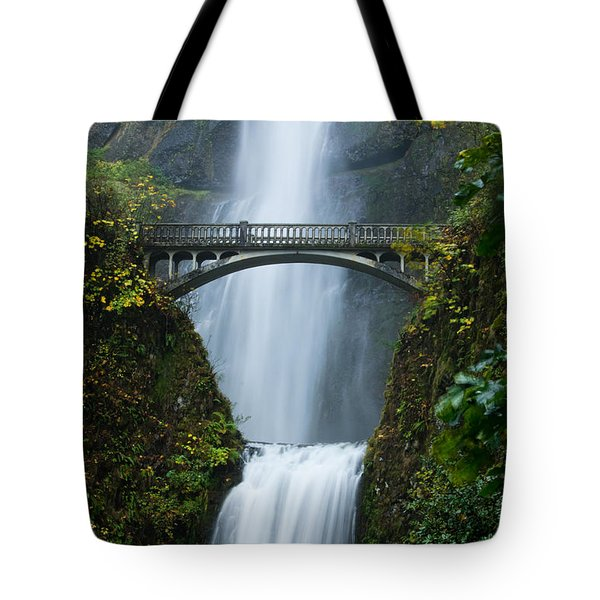 Fall At Multnomah Falls Tote Bag