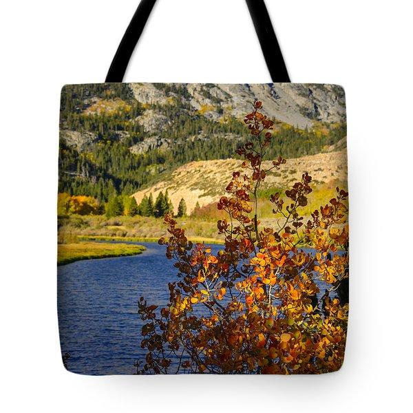 Fall At North Lake Tote Bag