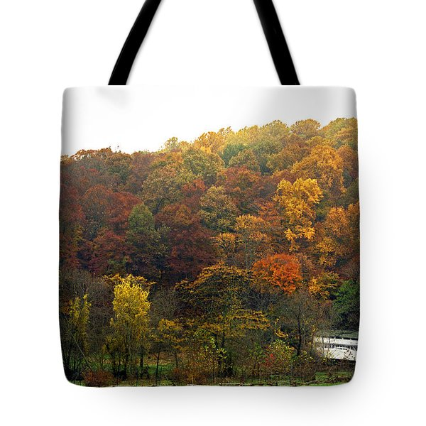 Fall At Valley Forge Tote Bag