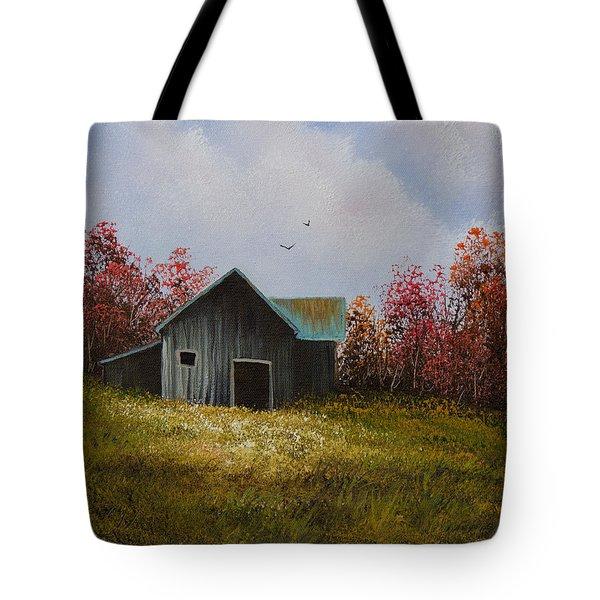 Fall Begins Tote Bag by C Steele