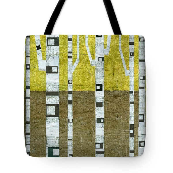 Fall Birches  Tote Bag