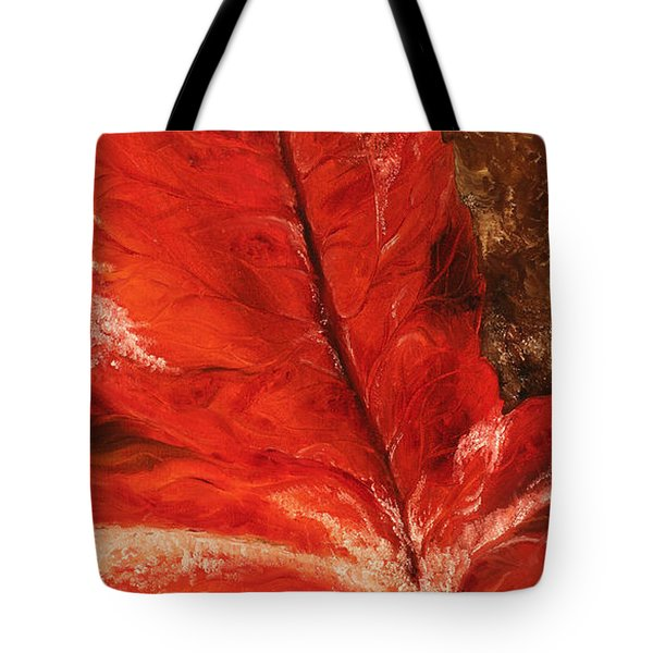 Tote Bag featuring the painting Fall Calmness by Melinda Cummings