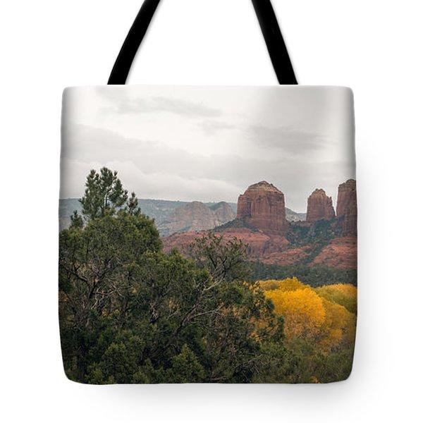 Fall Color Sedona 0495 Tote Bag