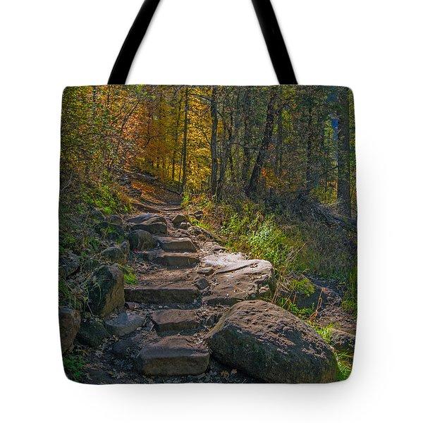 West Fork At Oak Creek Tote Bag