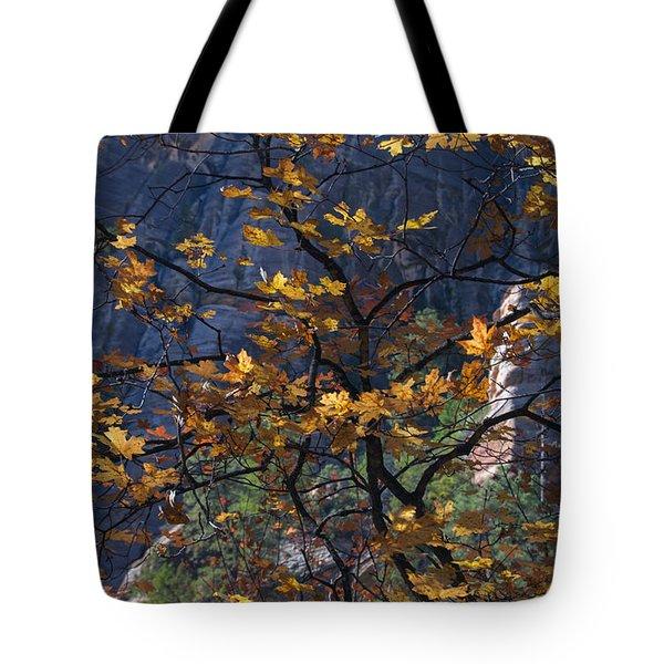 West Fork Tapestry Tote Bag