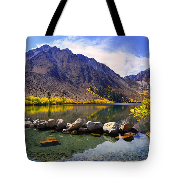 Fall Colors At Convict Lake  Tote Bag