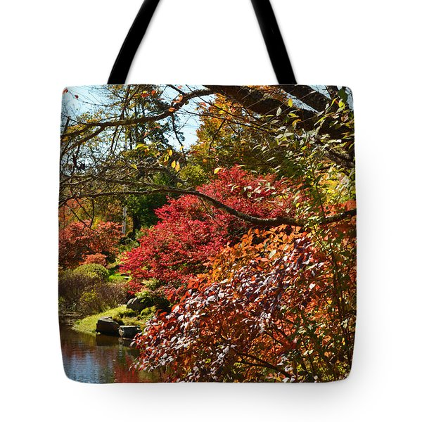 Fall Colors In New England Tote Bag
