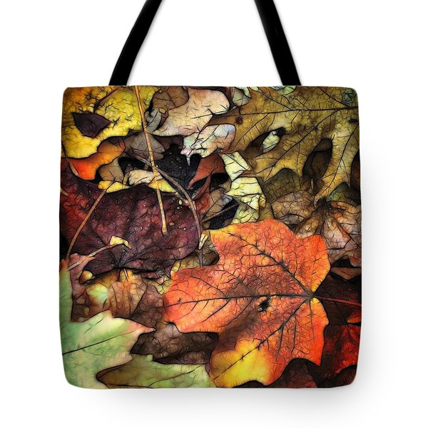 Fall Colors Tote Bag by Lyle Hatch