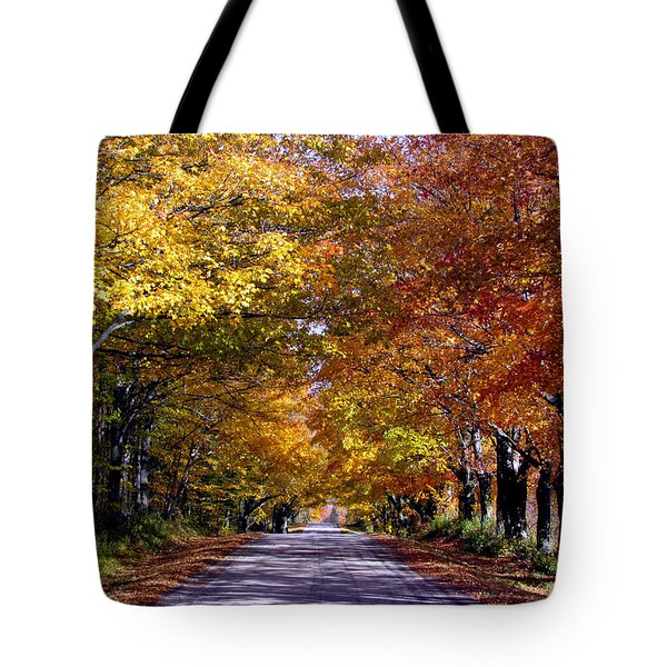 Fall Colors Near Sister Bay Tote Bag
