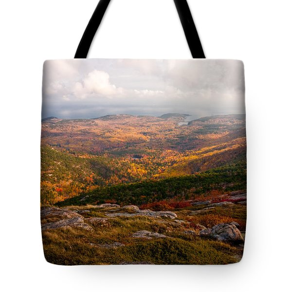 Fall Colors Of Acadia 6656 Tote Bag by Brent L Ander
