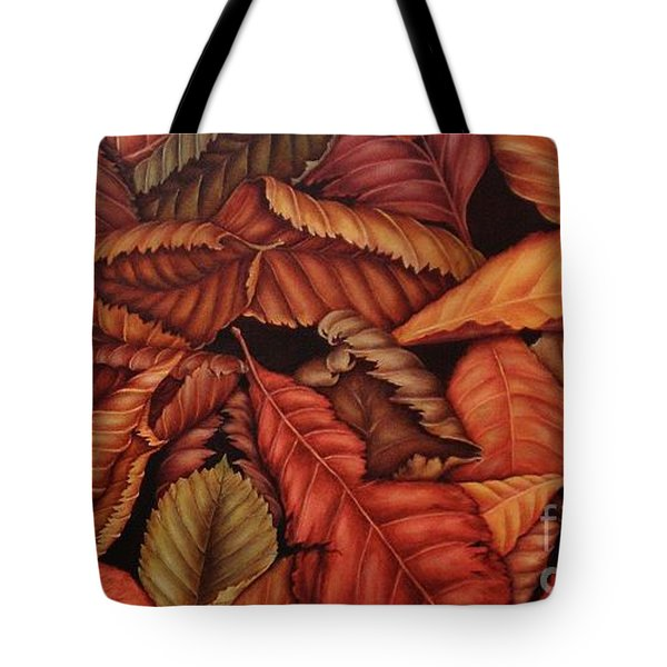 Fall Colors Tote Bag by Paula Ludovino