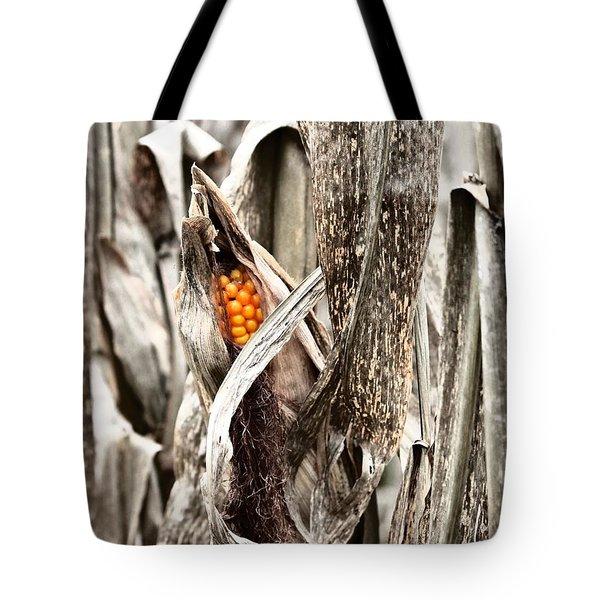 Fall Corn Tote Bag