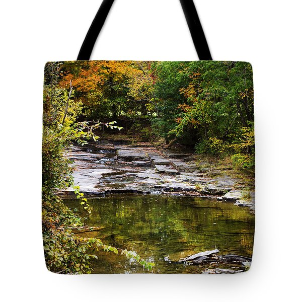 Fall Creek Tote Bag