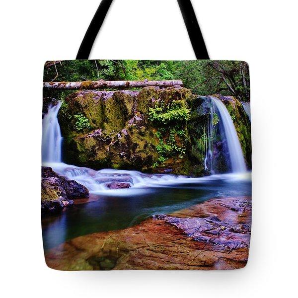Fall Creek Oregon 3 Tote Bag