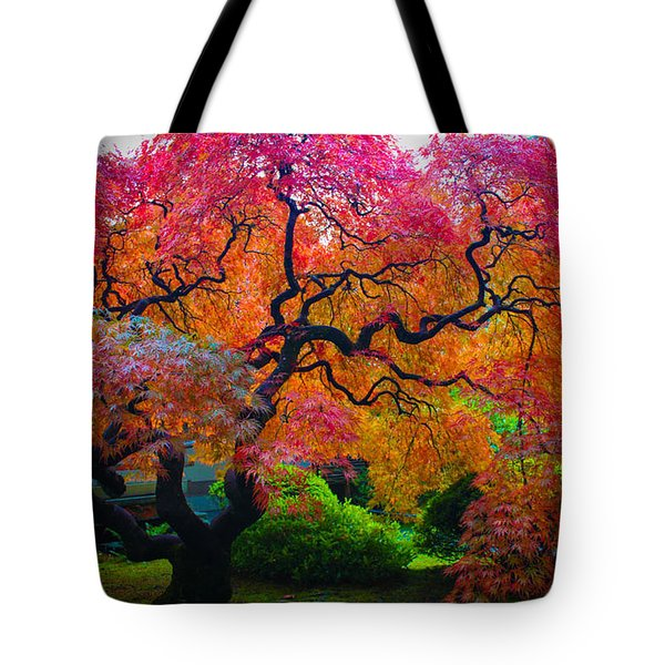 Fall Crowning Glory  Tote Bag by Patricia Babbitt