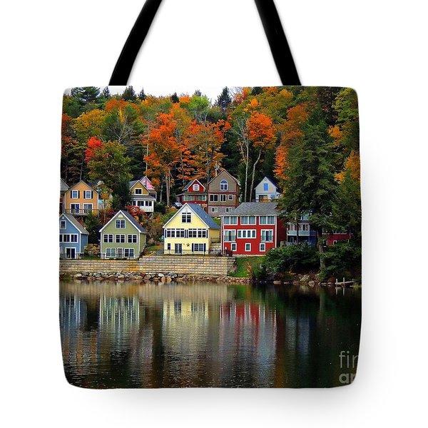 Fall Days Tote Bag
