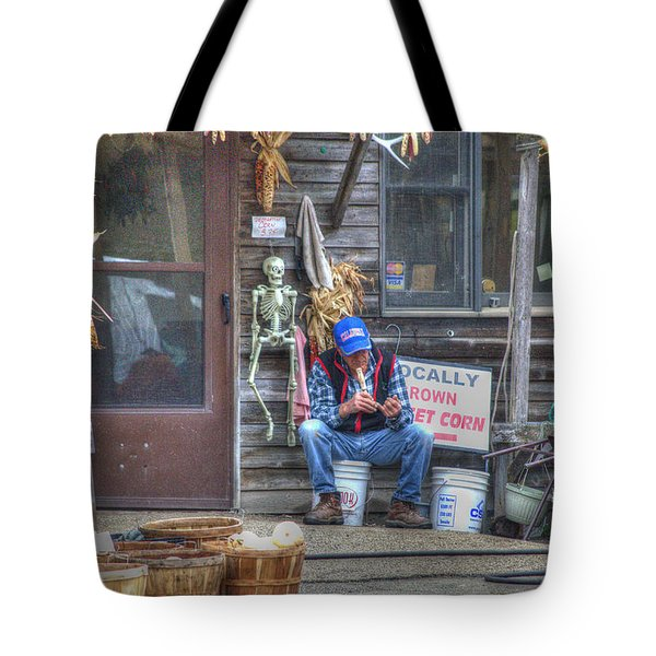 Fall Farmer's Market Tote Bag