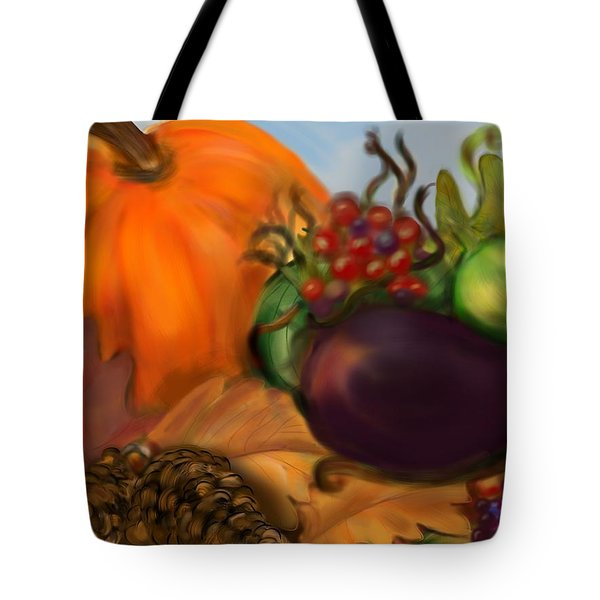 Fall Festival Tote Bag