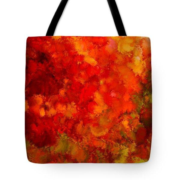 Fall Frolic Tote Bag
