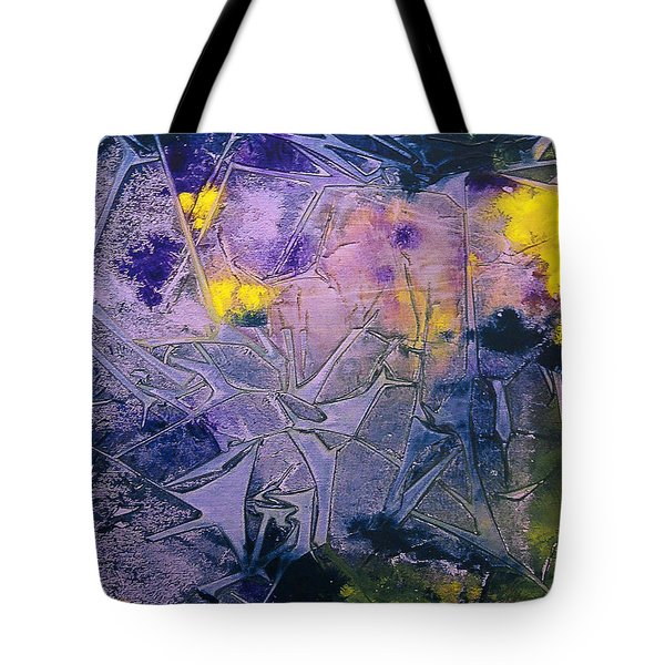 Fall Frost Dancing Tote Bag by Heather  Hiland