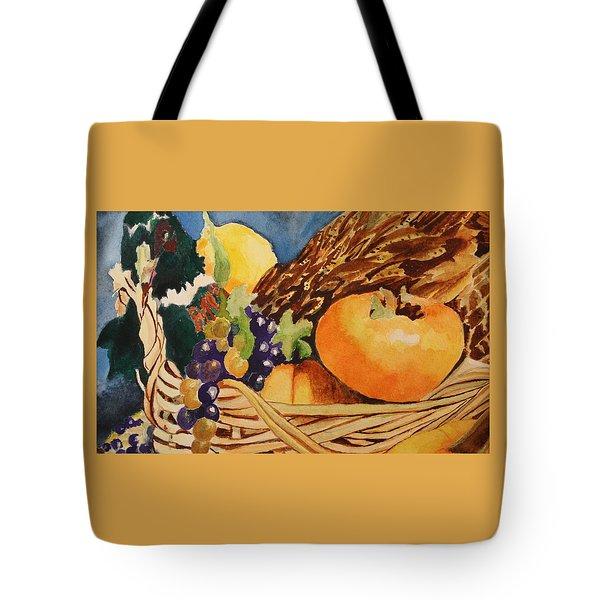 Fall Harvest Tote Bag