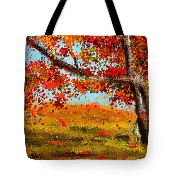 Fall Impressions Tote Bag