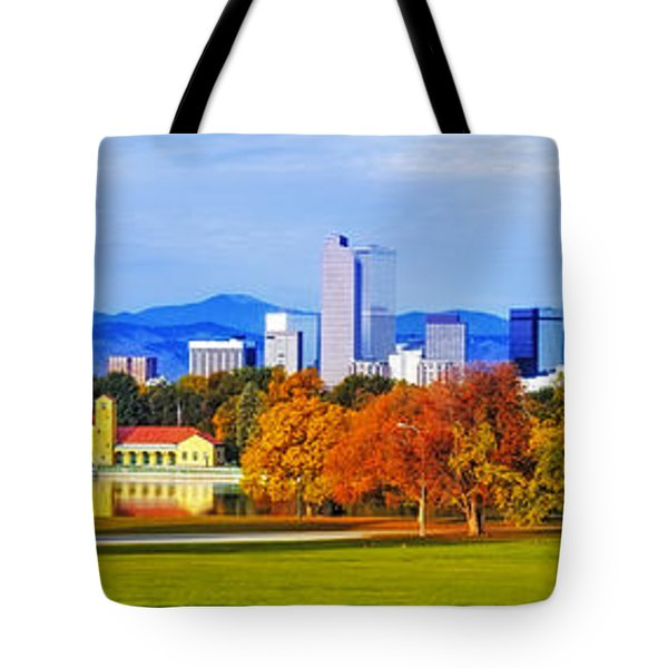 Fall In Denver Colorado Tote Bag