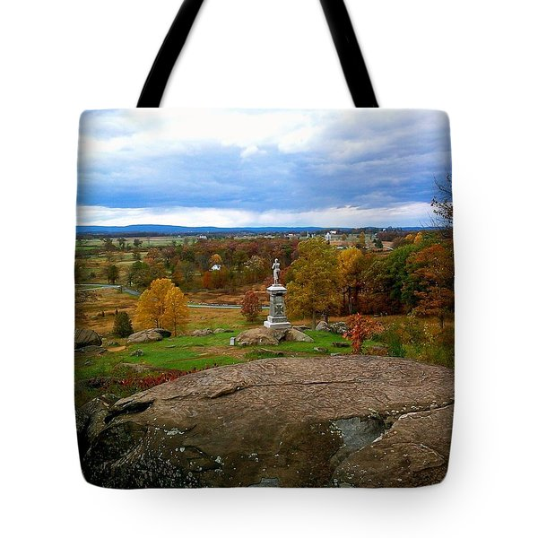 Fall In Gettysburg Tote Bag by Amazing Photographs AKA Christian Wilson