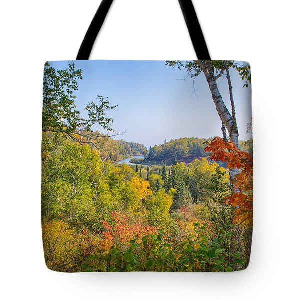 Fall In Gooseberry State Park Tote Bag