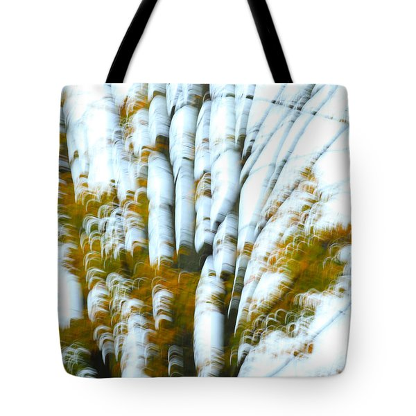 Fall In Motion Tote Bag by Karol Livote