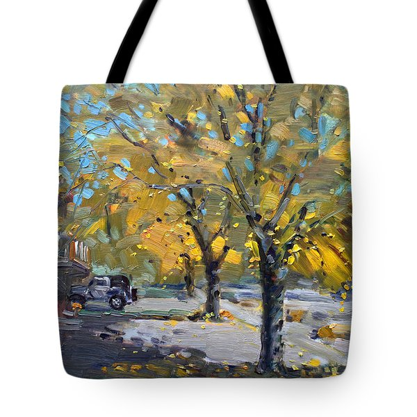 Fall In Silverado Dr  Tote Bag