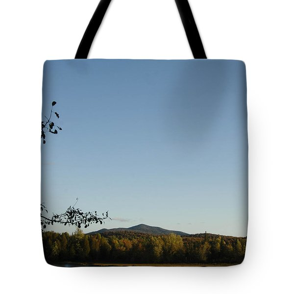 Fall In The Adirondacks Tote Bag