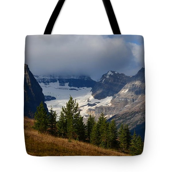 Fall In The Mountains Tote Bag by Cheryl Miller