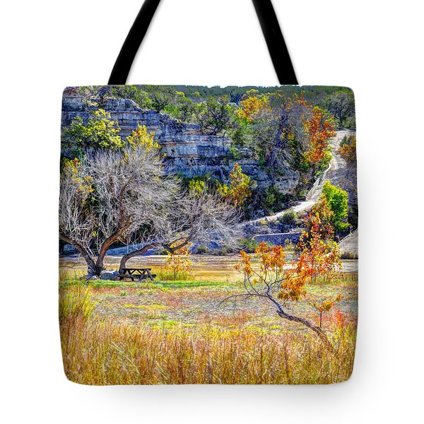 Fall In The Texas Hill Country Tote Bag by Savannah Gibbs