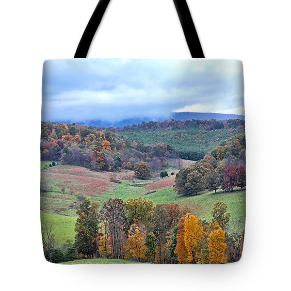 Fall In Virginia Tote Bag by Denise Romano