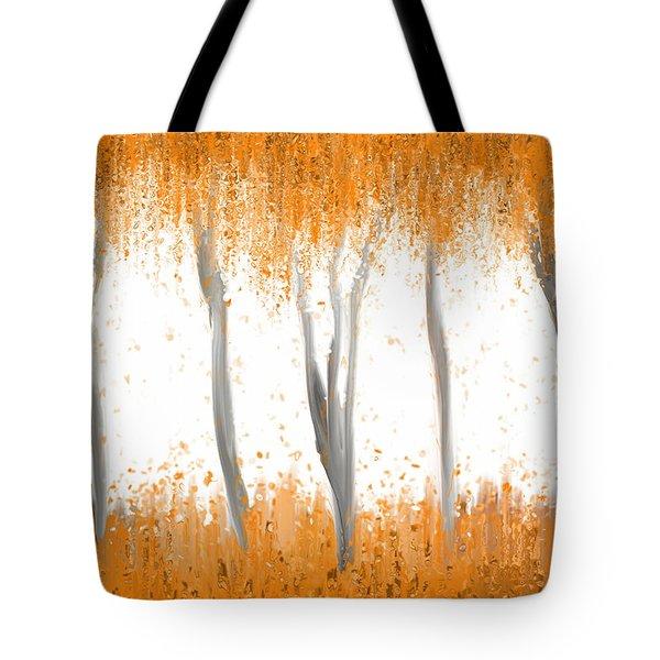 Fall Tote Bag by Kume Bryant
