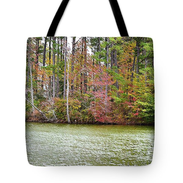Fall Landscape 2 Tote Bag by Lanjee Chee