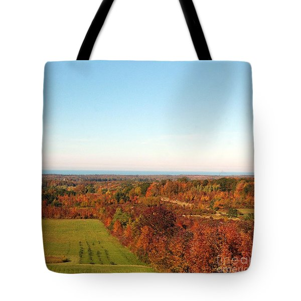 Fall Landscape Tote Bag by Kathleen Struckle